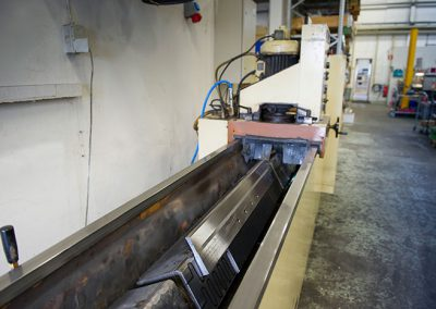 Göckel 50 ELT, grinding machine for longer rails