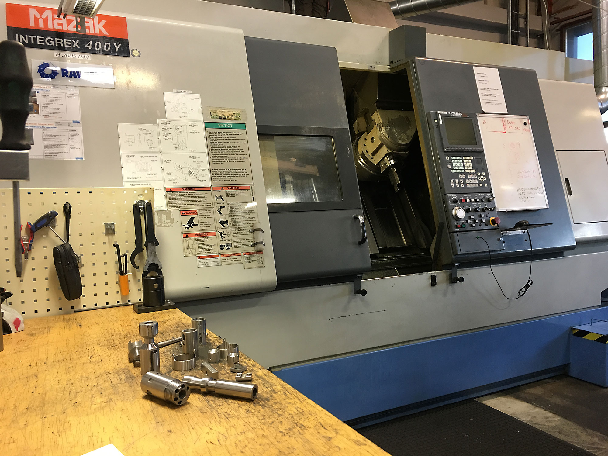 subcontract work for the industri advanced machine park dianor ab  Chevalier Mill Parts