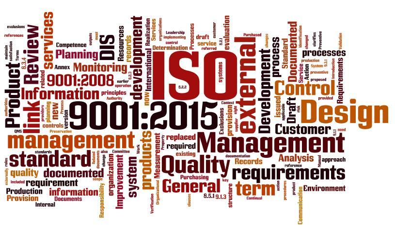 Vi certifierar oss enligt ISO