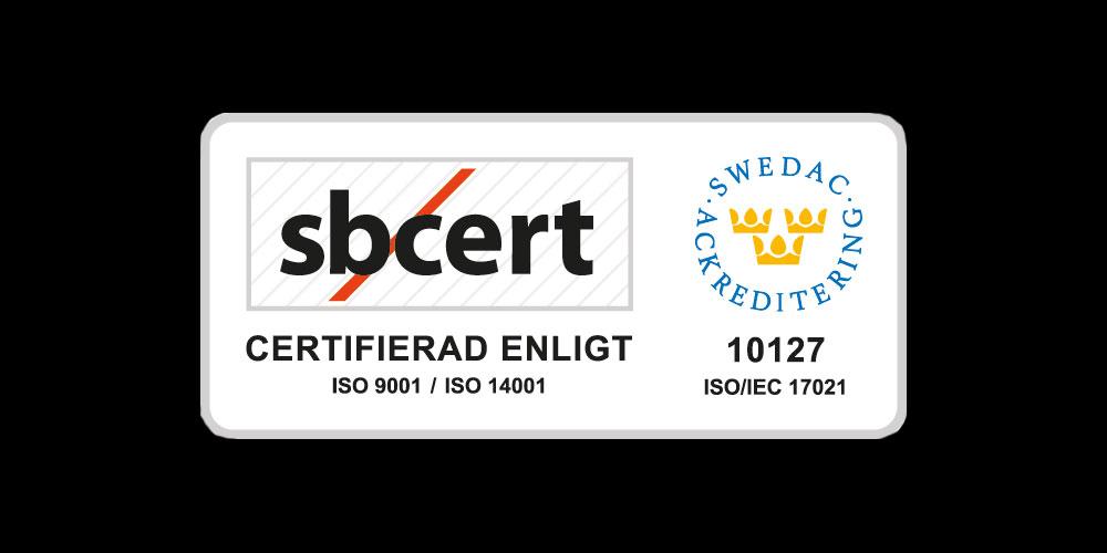 Dianor AB är nu ISO-certifierade