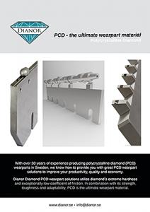 PCD, ett superhårt material