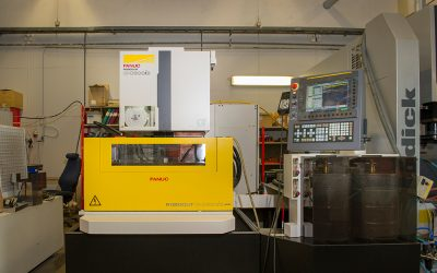 New EDM-machine, FANUC, for subcontract work