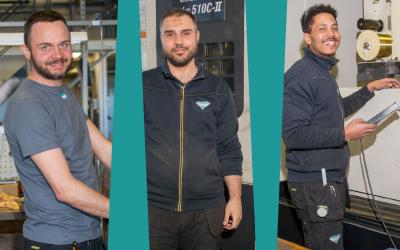 Three tool makers employed