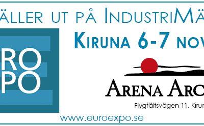 Vi ställer ut på industrimässan i Kiruna i november