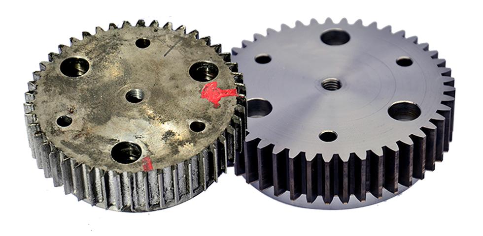 Akut reparation av kugghjul